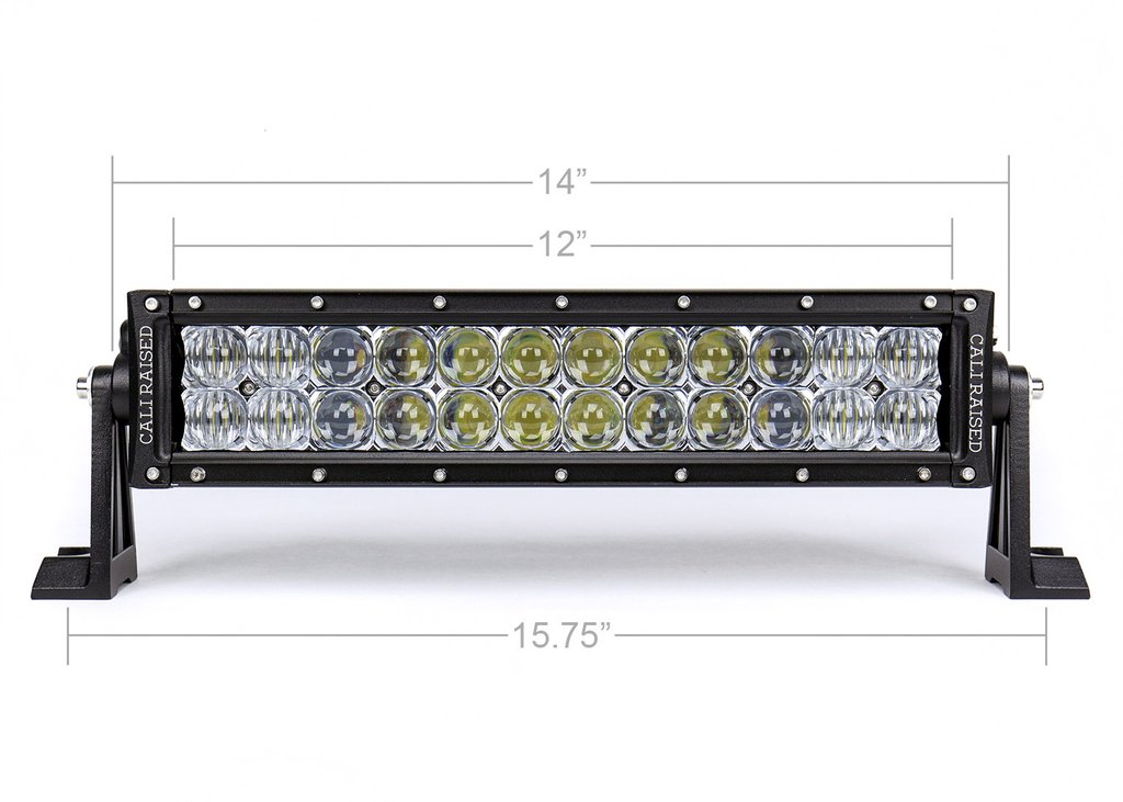 14 in. DUAL ROW 5D OPTIC OSRAM LED BAR