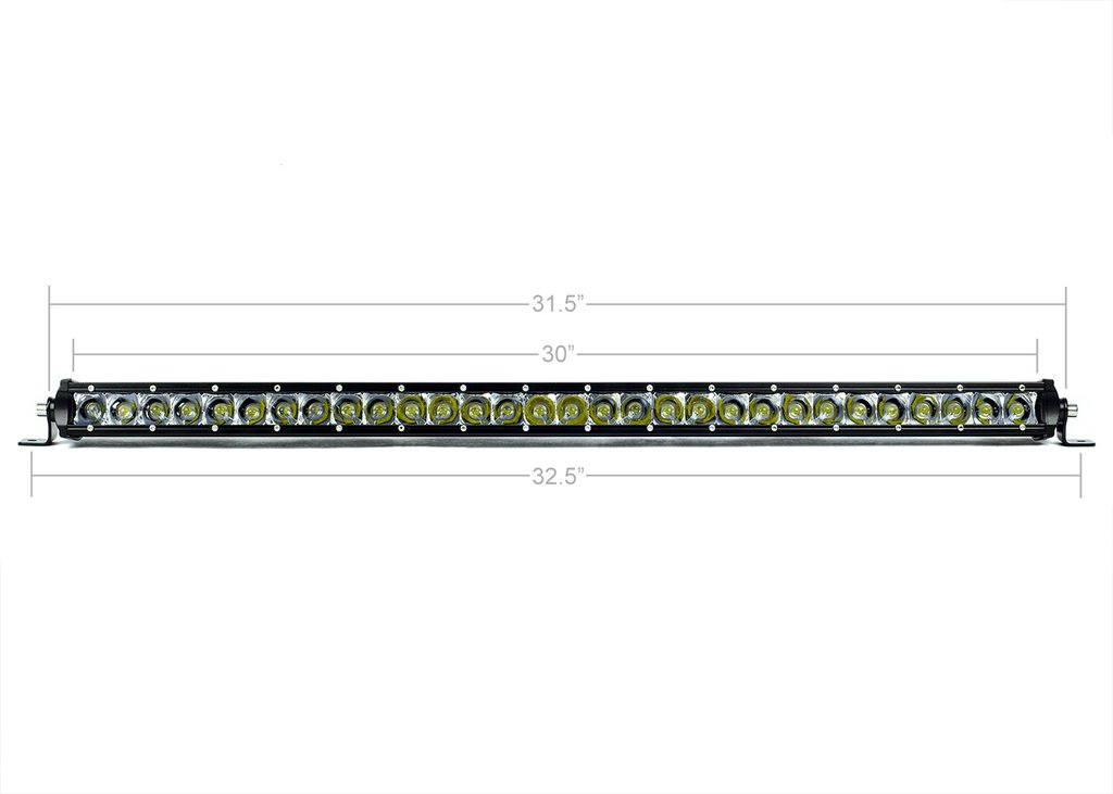 32 in. SLIM SINGLE ROW LED BAR