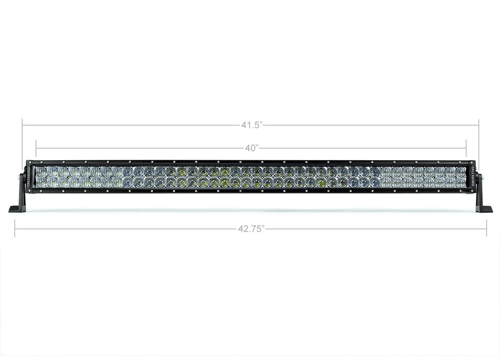 Cali Raised 42 In. Dual Row 5D Optic OSRAM LED Bar