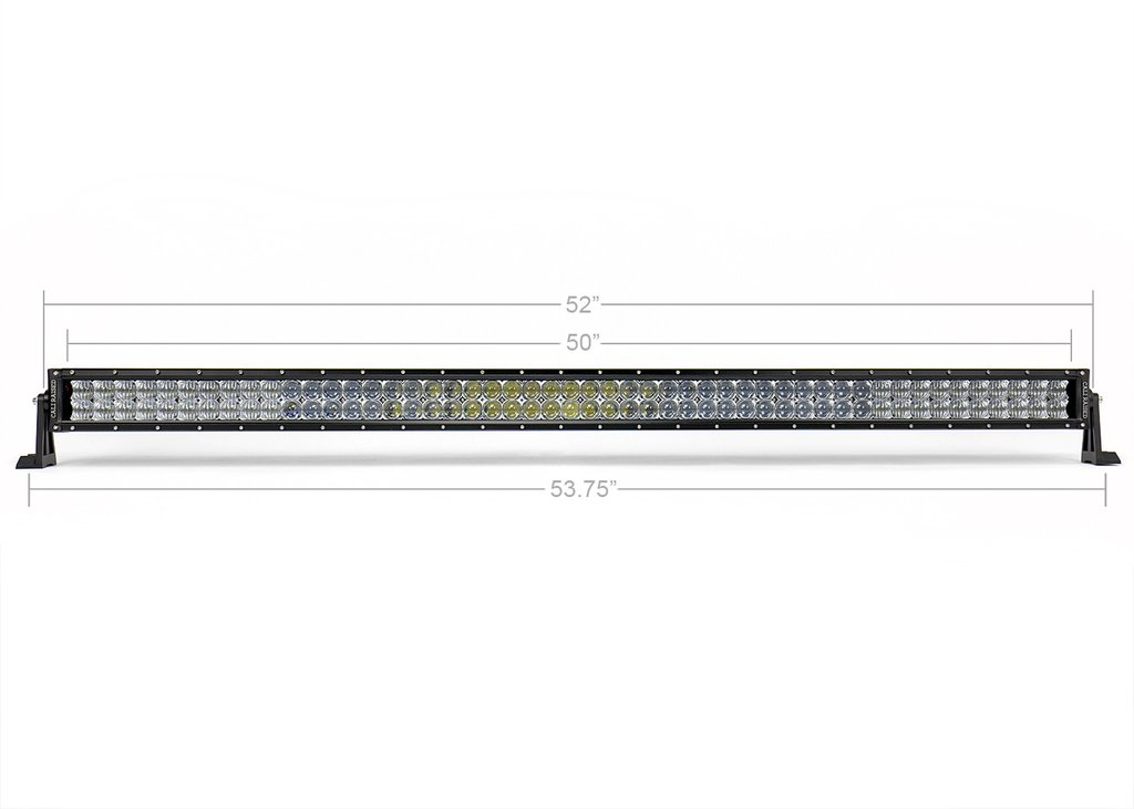 52 in. DUAL ROW 5D OPTIC OSRAM LED BAR