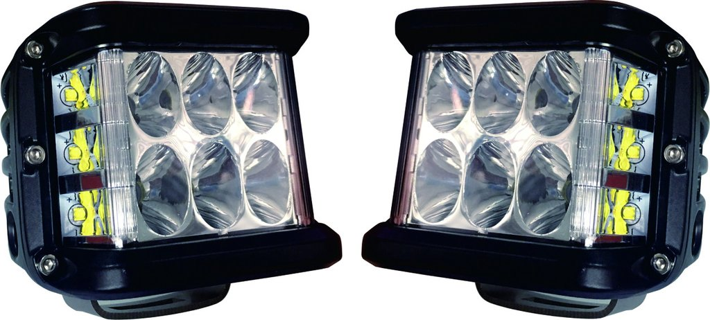 Cali Raised Side Projecting LED Pods *Sold As Pair*