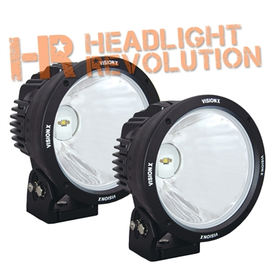 "8.7"" CANNON BLACK 1 90W LED 10º NARROW LIGHT KIT"