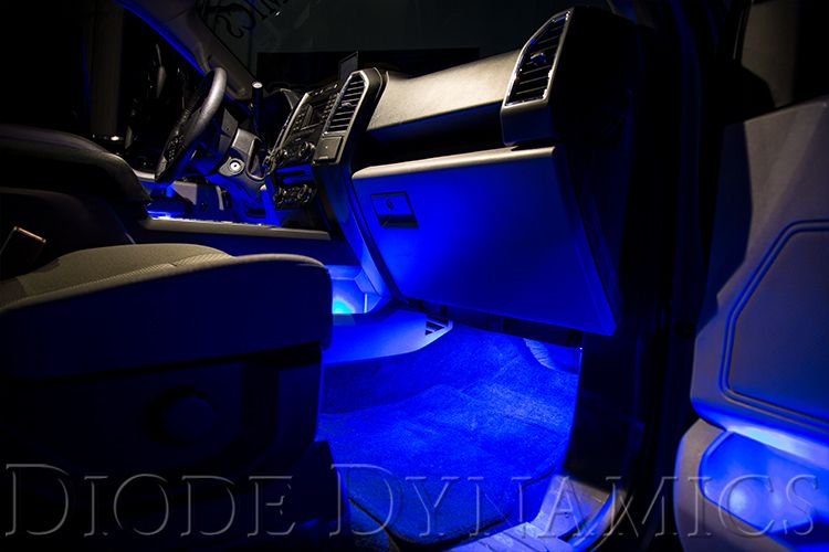 Diode Dynamics Single-Color Footwell LED Kit