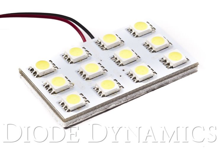 Diode Dynamics Dome Light LED Boards SMD12 Cool White (PAIR)