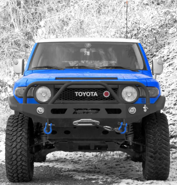 Demello Off-Road FJ Three Hoop Front Bumper