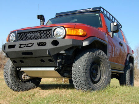 Demello Off-Road FJ Flat Top Front Bumper