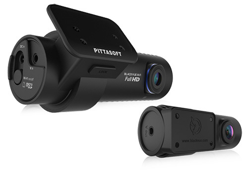 BlackVue 1080p Dual-Lens Cloud-Capable WiFi GPS Dashcam for Front and Rear; Up To 128GB SD Card