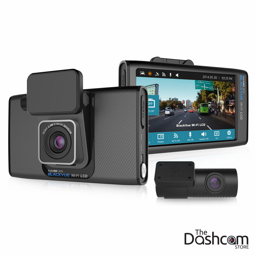 BlackVue DR750LW-2CH Touchscreen Dash Cam with Dual-Lens 1080p & WiFi