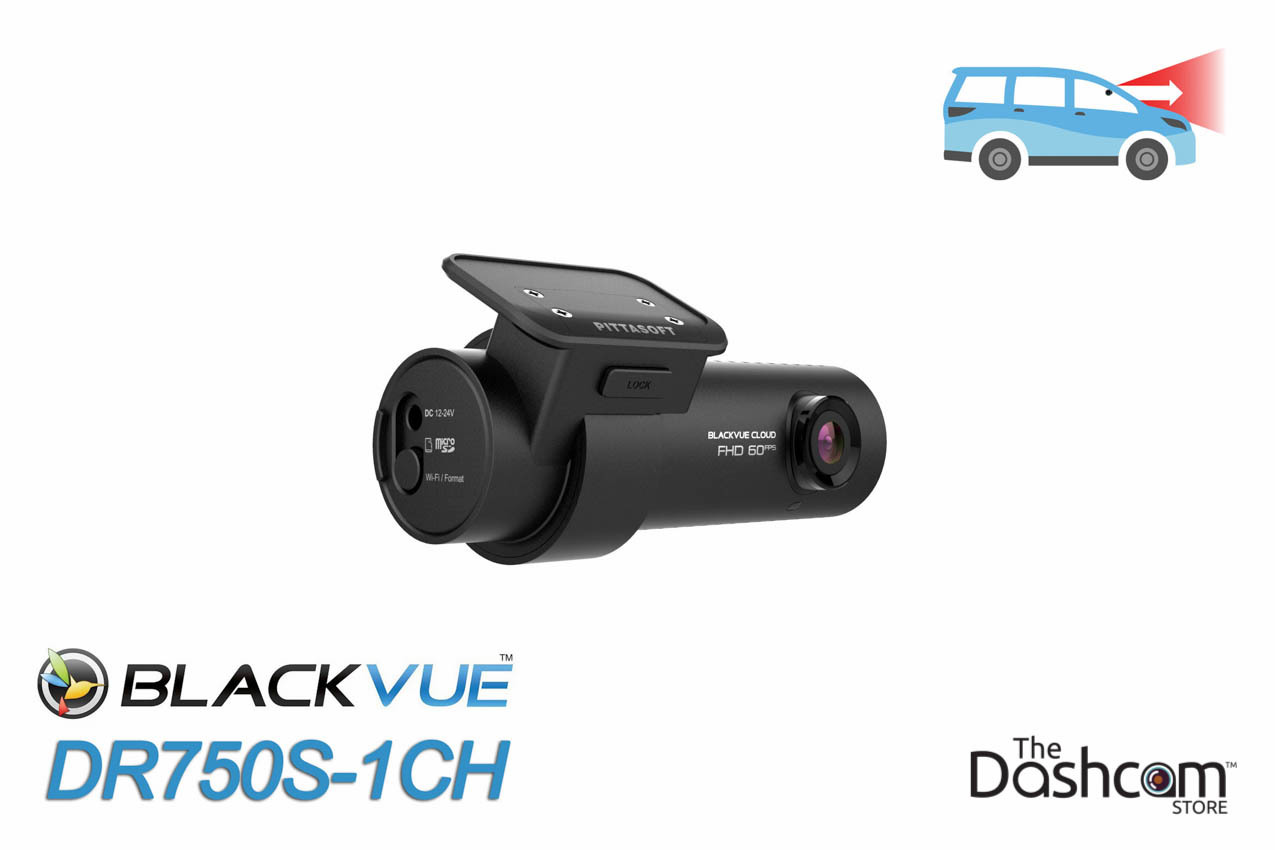 BlackVue DR750S-1CH Single-Lens 1080p/60fps GPS WiFi Dashcam