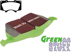 EBC Greenstuff 6000 Brake Pad Set - FRONT