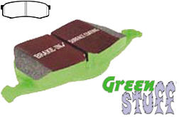 EBC Greenstuff 6000 Brake Pad Set - REAR