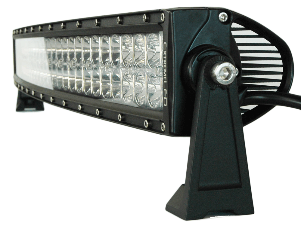"Extreme Series 5D 30"" Curved 5W OSRAM LED Light Bar"