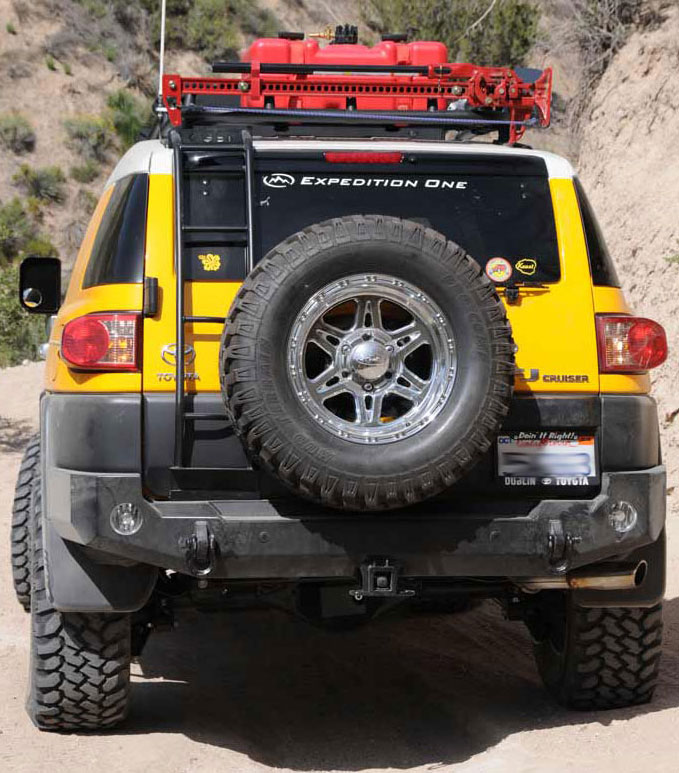 Expedition One Trail Series Rear Bumper w/out Tire Carrier