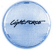 ONE Lightforce Crystal Blue Wide filter lens 170mm (Striker) - CUSTOMER RETURN