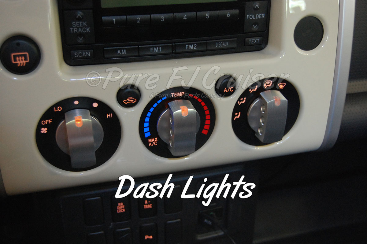 Drake Billet Climate Control Knobs (Set)