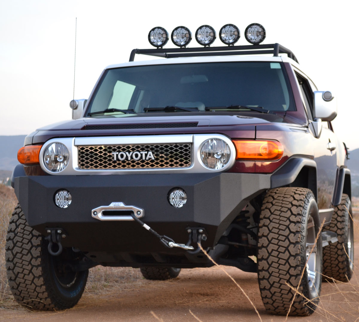 Fj Cruiser Bumpers And Grille Guards From Pure Fj Cruiser