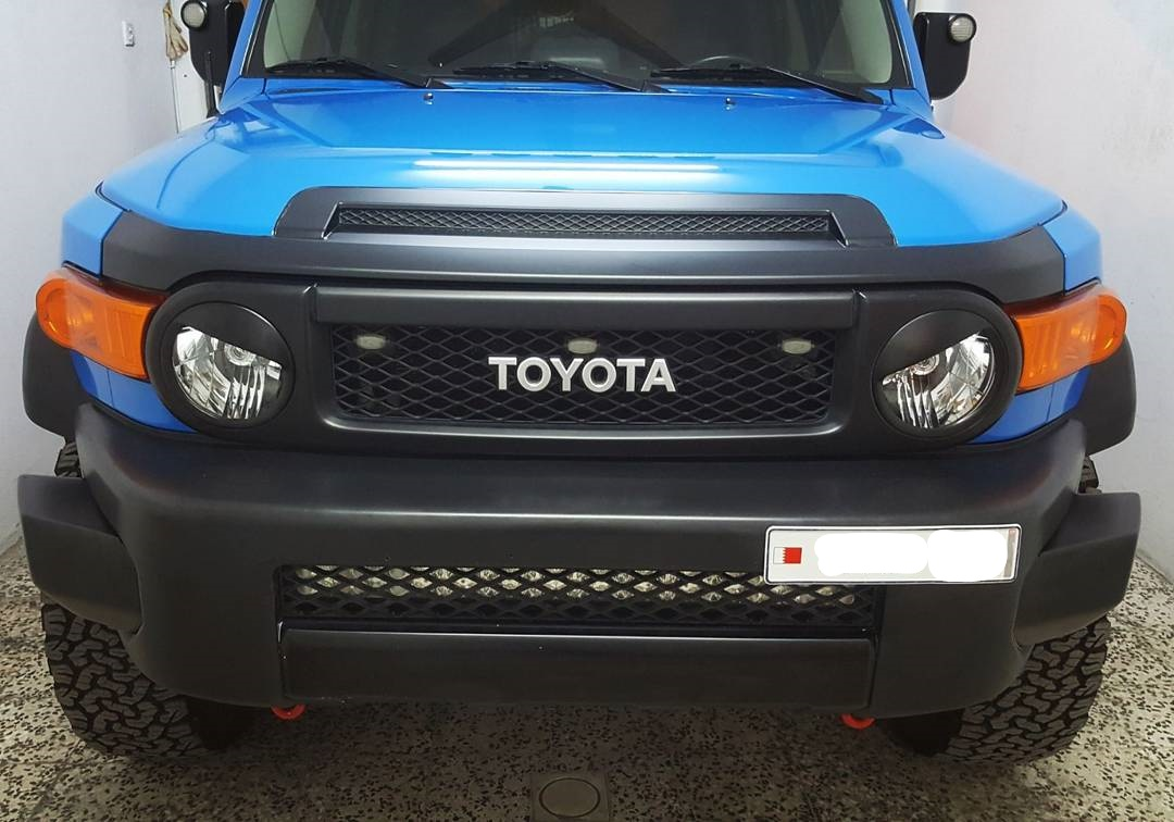 FJ Angry Eye Headlight Accessory - 2007-2014 - Matte Black