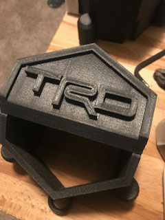 FJ Cruiser Backup Camera Cover