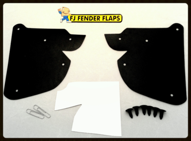 "FJ Cruiser Fender Flaps - Adds 2"" Tire Clearance"