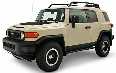 For FJ Cruiser 07-14 Primed Front Upper Bumper Retainer Cover