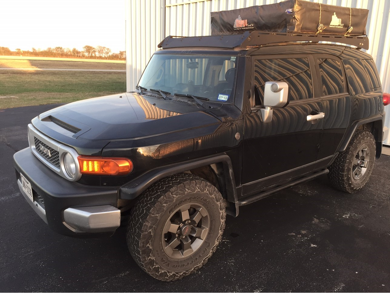 PrInSu Designs FJ Cruiser Roof Rack