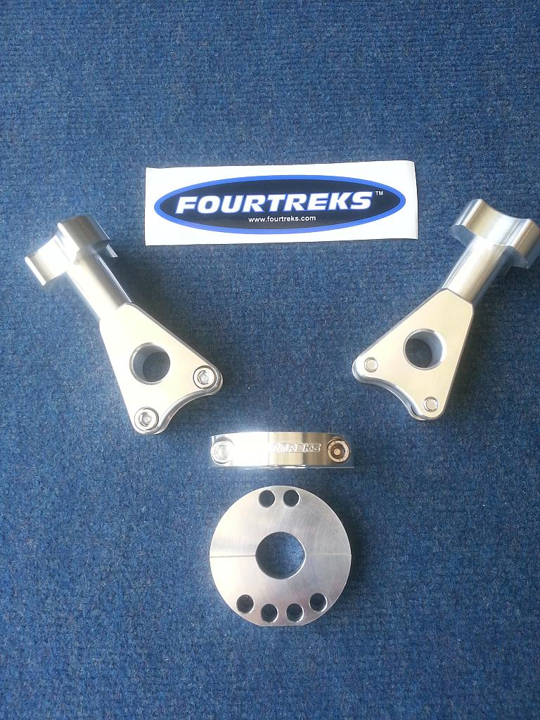 Fourtreks Modular Hi-Lift Mounts