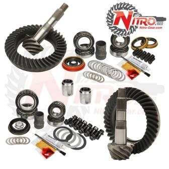 Toyota FJ Cruiser without E-Locker, 4.56 Ratio, Nitro Front & Rear Gear Package Kit