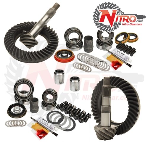 Toyota FJ Cruiser without E-Locker, 4.88 Ratio, Nitro Front & Rear Gear Package Kit 07-09