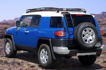 Gobi Stealth FJ Cruiser Roof Rack w/ FREE Ladder & Shipping!