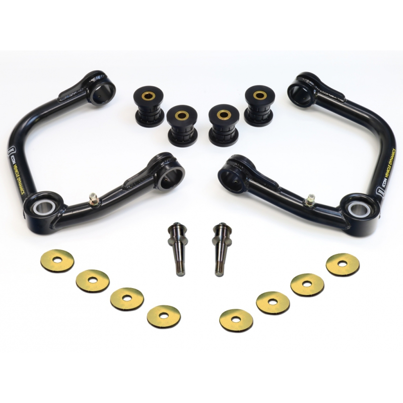 Icon Vehicle Dynamics 2007-UP Toyota FJ Cruiser Uniball Upper Control Arm Kit