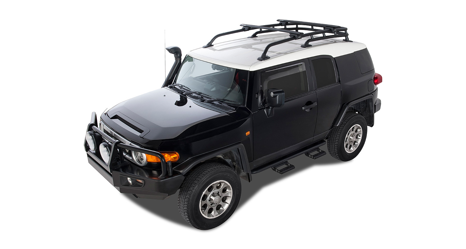 Rhino-Rack Vortex SX Black 2 Bar Roof Rack