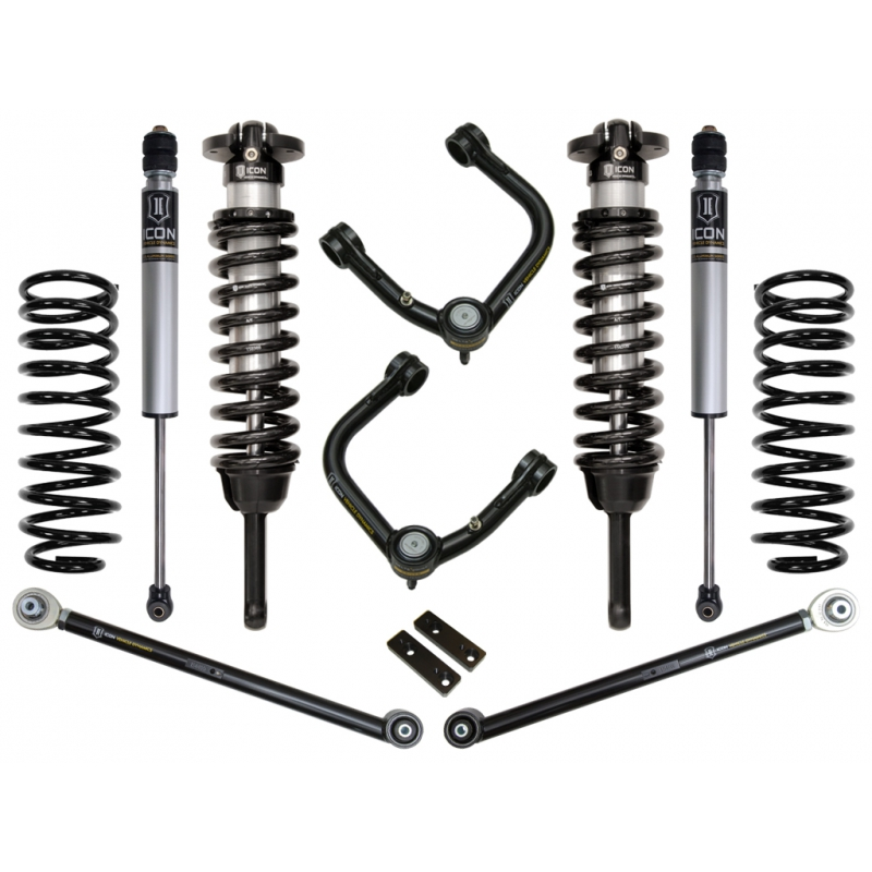 "2007-2009 Toyota FJ Cruiser 0-3.5"" Suspension System - Stage 3 (Tubular)"