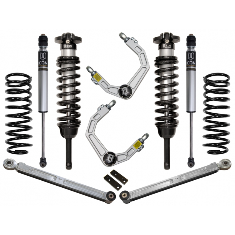 "2007-2009 Toyota FJ Cruiser 0-3.5"" Suspension System - Stage 3 (Billet)"