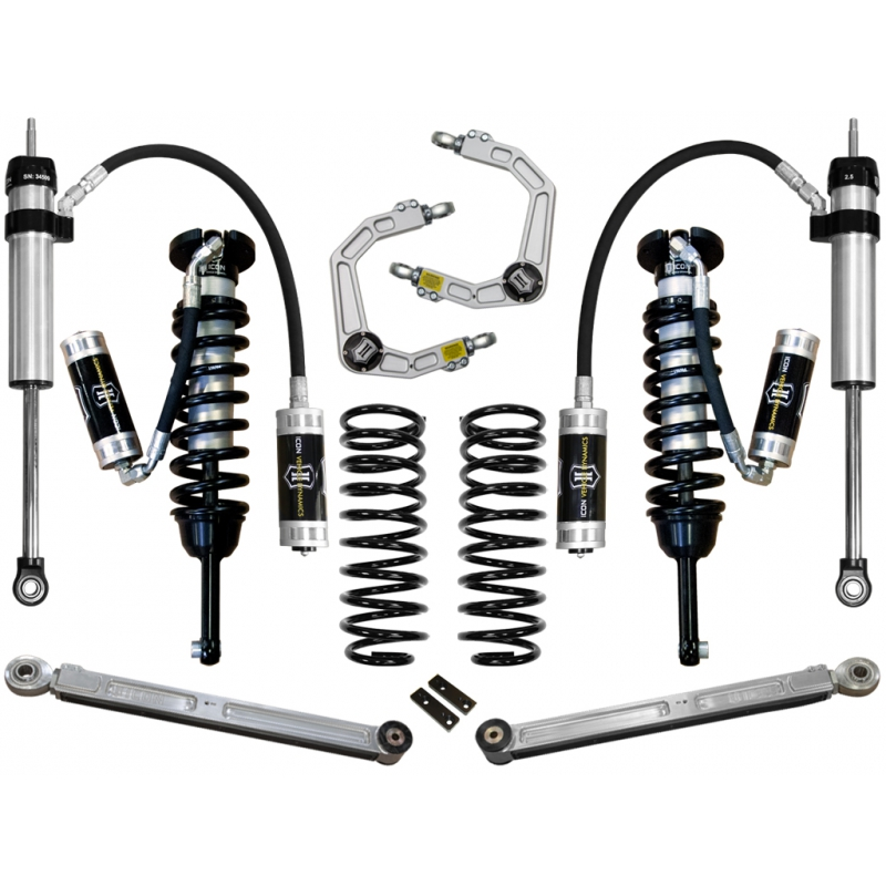 "2007-2009 Toyota FJ Cruiser 0-3.5"" Suspension System - Stage 5 (Billet)"