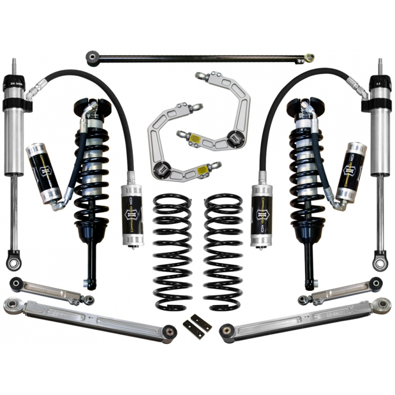 "2007-2009 Toyota FJ Cruiser 0-3.5"" Suspension System - Stage 6 (Billet)"