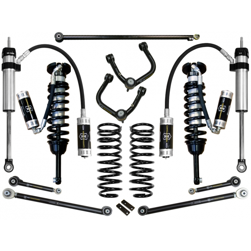 "2007-2009 Toyota FJ Cruiser 0-3.5"" Suspension System - Stage 6 (Tubular)"