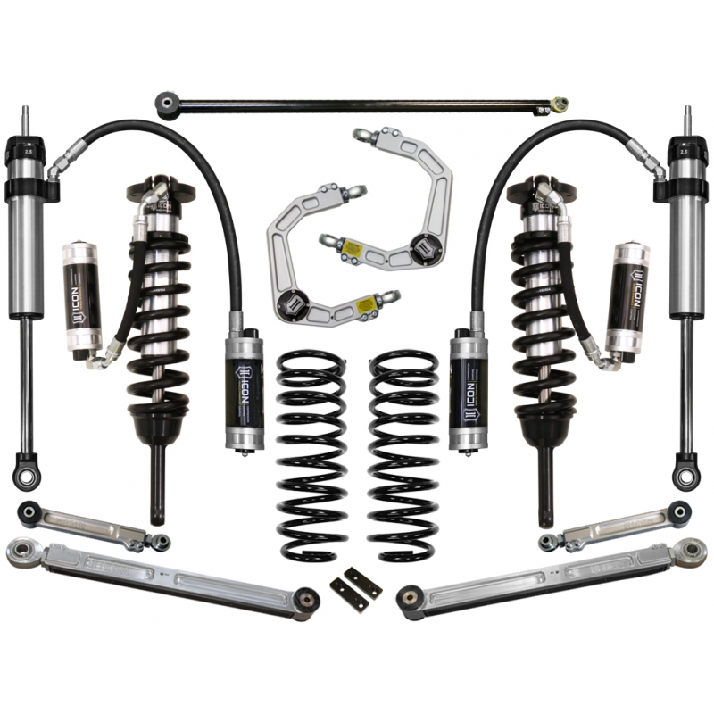 "2007-2009 Toyota FJ Cruiser 0-3.5"" Suspension System - Stage 7 (Billet)"