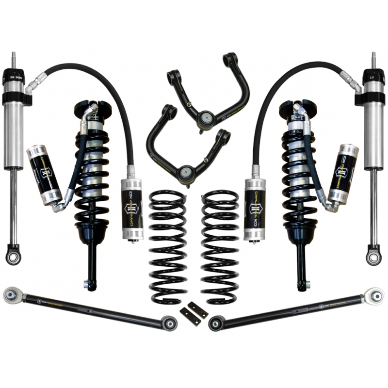 "2010-2014 Toyota FJ Cruiser 0-3.5"" Suspension System - Stage 5 (Tubular)"