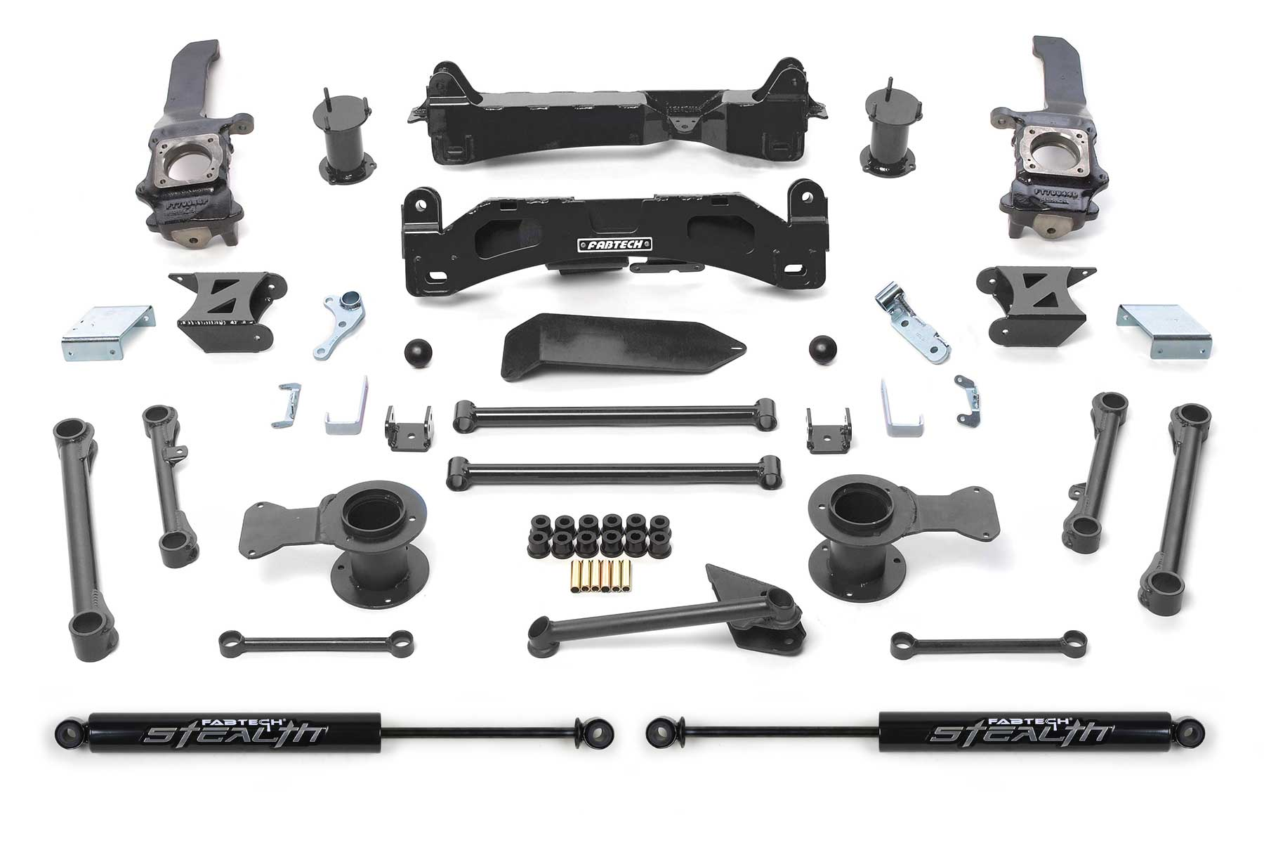 6″ Basic System w/ Stealth Shocks – 06-09 2WD/4WD