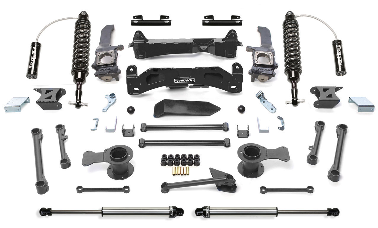 "6"" Performance System w/Front Dirt Logic SS 2.5 Coilover Resi & Rear Dirt Logic SS Shocks - 2010-13 Toyota FJ 2WD/4WD"