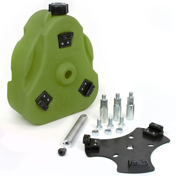 Daystar 2.5 Gallon Cam Can, Complete Kit, Green