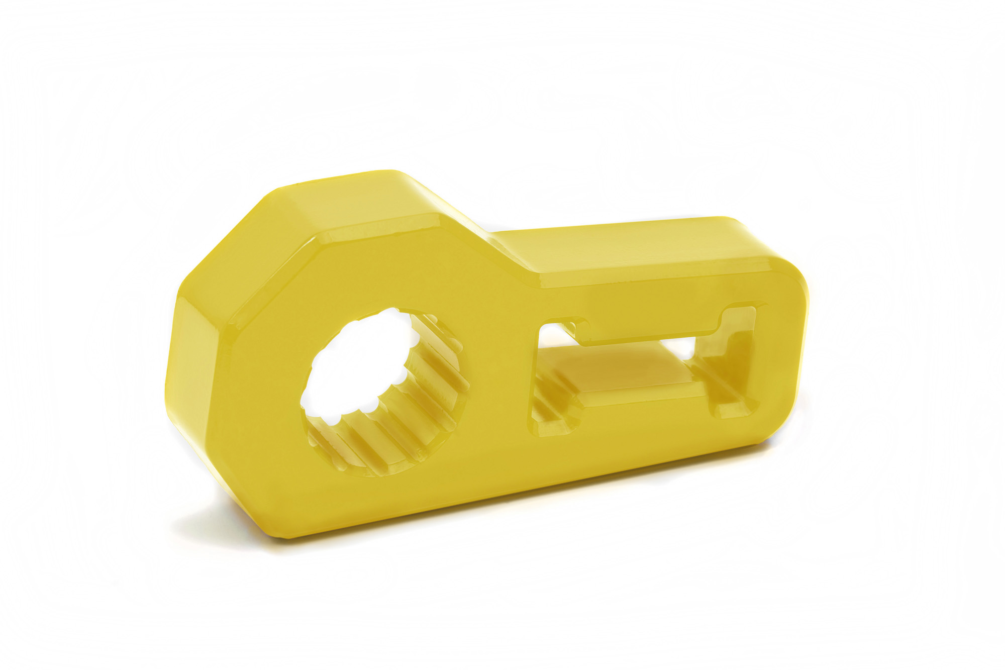 Jack Handle Isolator by Daystar - YELLOW