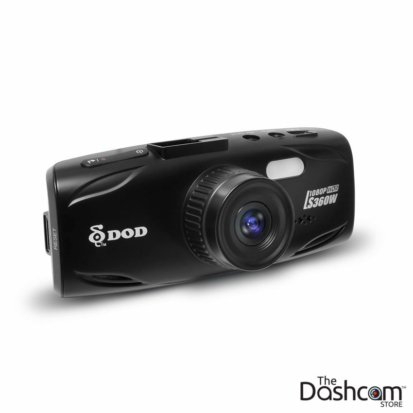 DOD LS360W Full HD 1080p Single Lens Dash Cam with WDR (Wide Dynamic Range)
