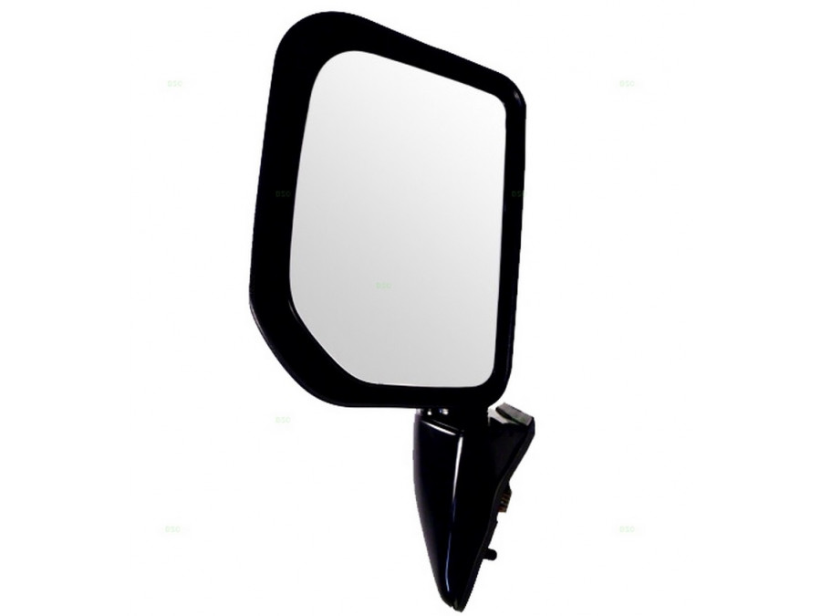 Low Range Off-Road *GLOSS BLACK* Power Mirror w/Lamp; no heat - Right Hand/Driver Side