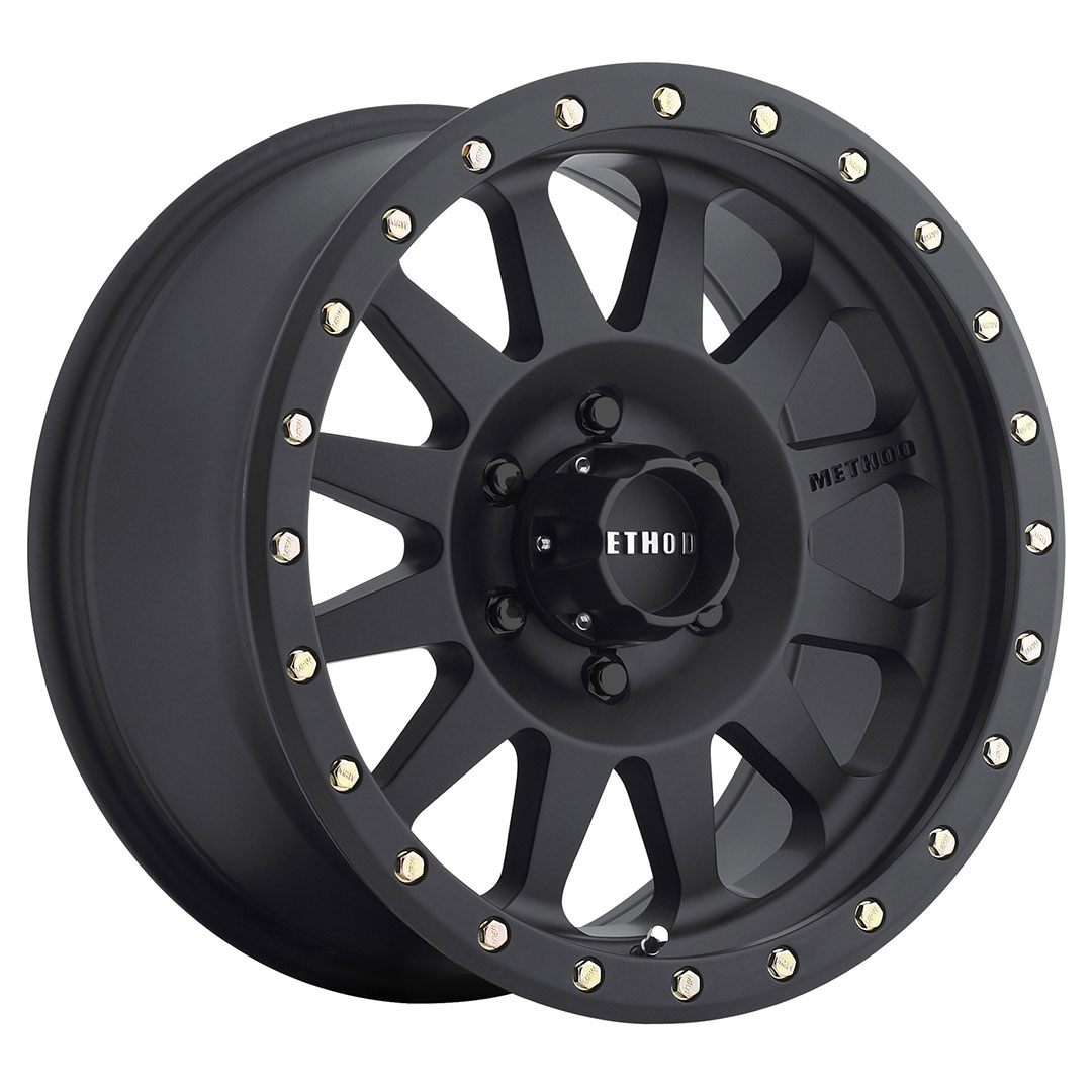 Method 304 Matte Black 17x8.5