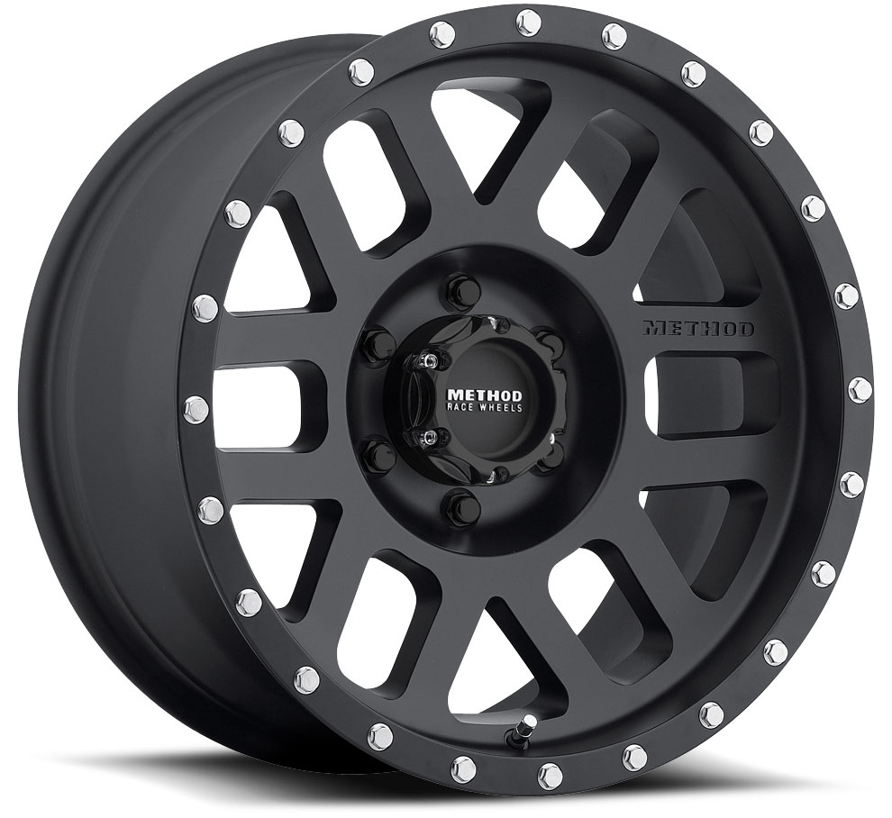 Method 306 Matte Black 17x8.5