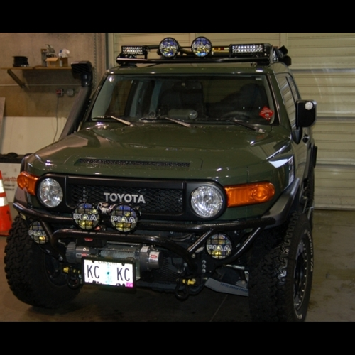 Metal Tech FJ Cruiser Light Bar 2007-2014