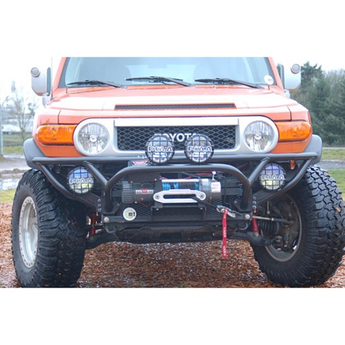 Metal-Tech FJ Cruiser Tube Bumper W/Winch Mount