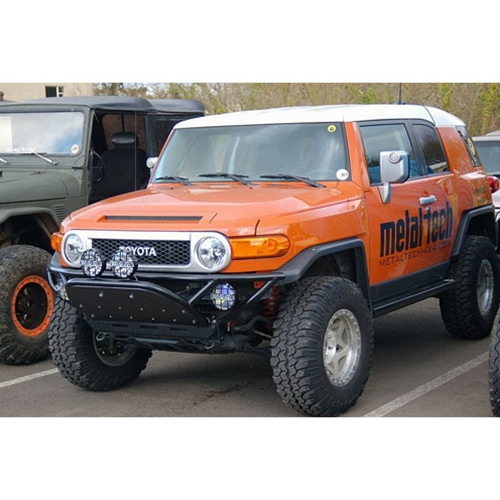 Metal-Tech FJ Cruiser Front Tube Bumper W/Bash Plate