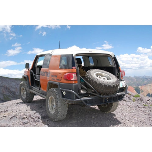 Metal-Tech FJ Cruiser Rear Tube Bumper